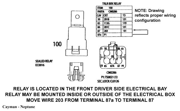 060605 3 monaco service bulletin (06 06 05) for monaco pre wired coaches holiday rambler rv wiring diagram at bayanpartner.co