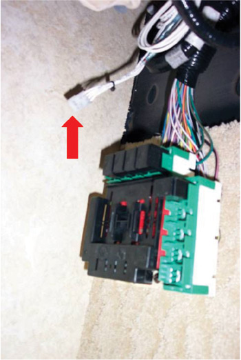 brake controller location guide for brand motor homes fig 3 gas lapalma vacationer simba admiral monarch trek after 2006
